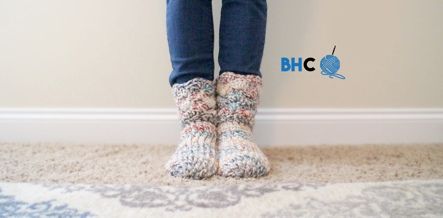 Crochet Slipper socks Inspirational Cozy Crochet Slipper socks Free Pattern & Tutorial B Of Charming 47 Photos Crochet Slipper socks