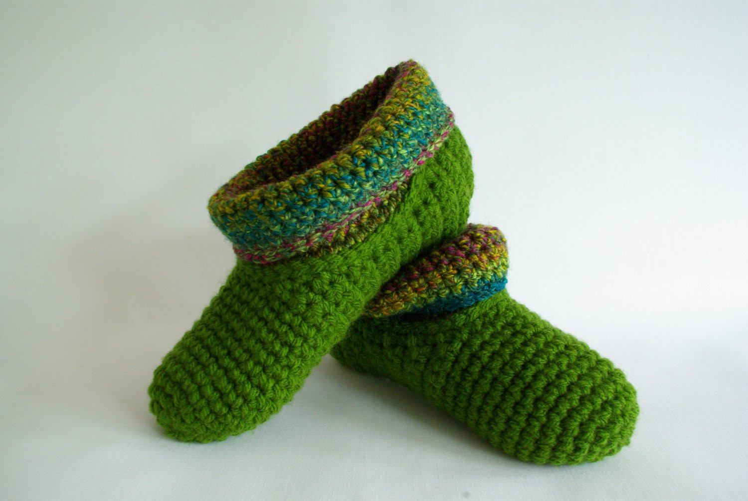 Crochet Slipper socks Unique Crochet Slipper socks Warm Wool Slippers Bed socks Handmade Of Charming 47 Photos Crochet Slipper socks