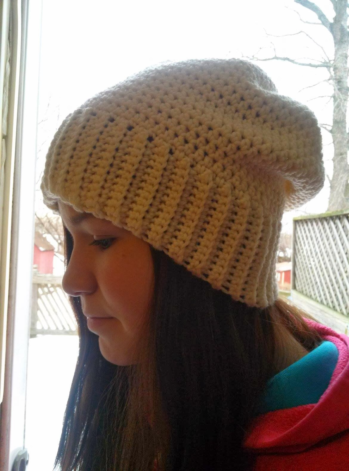 Crochet Slouchy Beanie Awesome Crafty Crochet and Things Slouchy Hat Pattern Of Charming 45 Images Crochet Slouchy Beanie