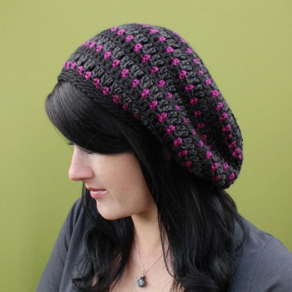 slouchy beanie crochet pattern free Crochet and Knit