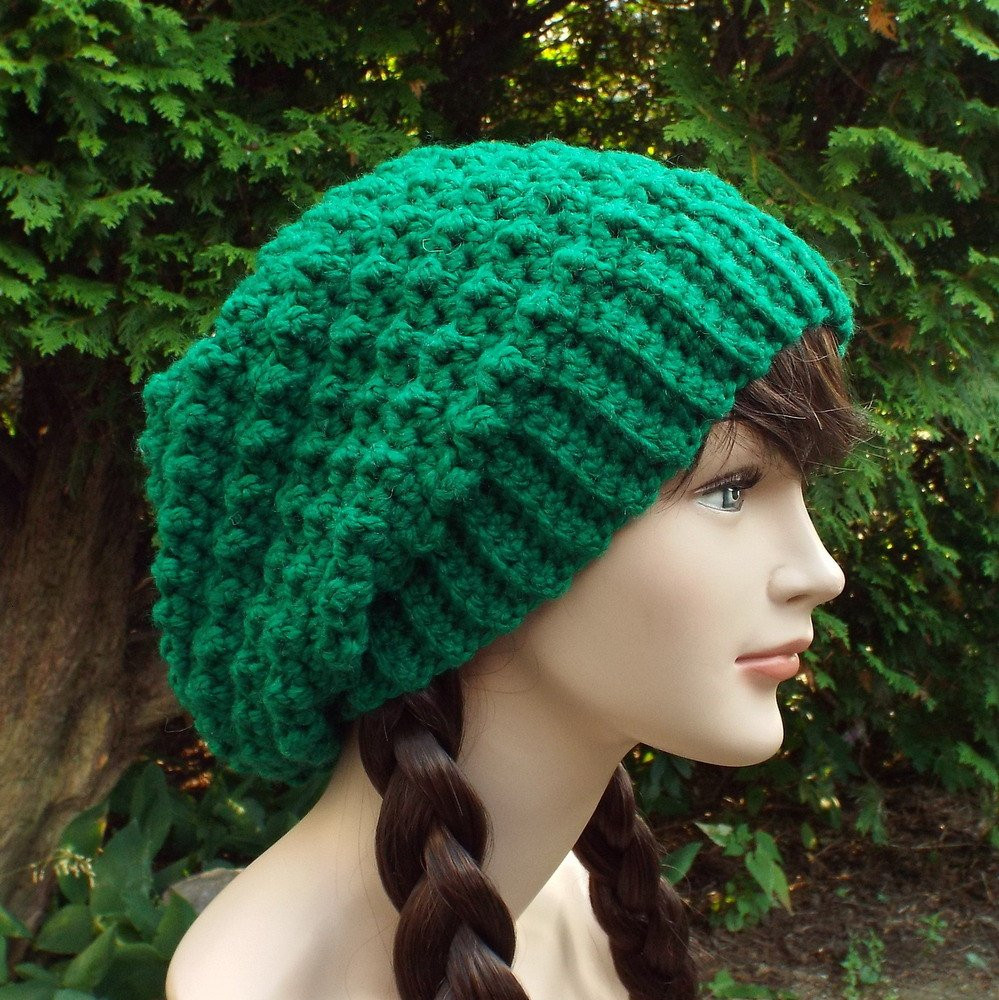 Crochet Slouchy Beanie Luxury Green Slouchy Crochet Hat Womens Slouch Beanie Oversized Of Charming 45 Images Crochet Slouchy Beanie