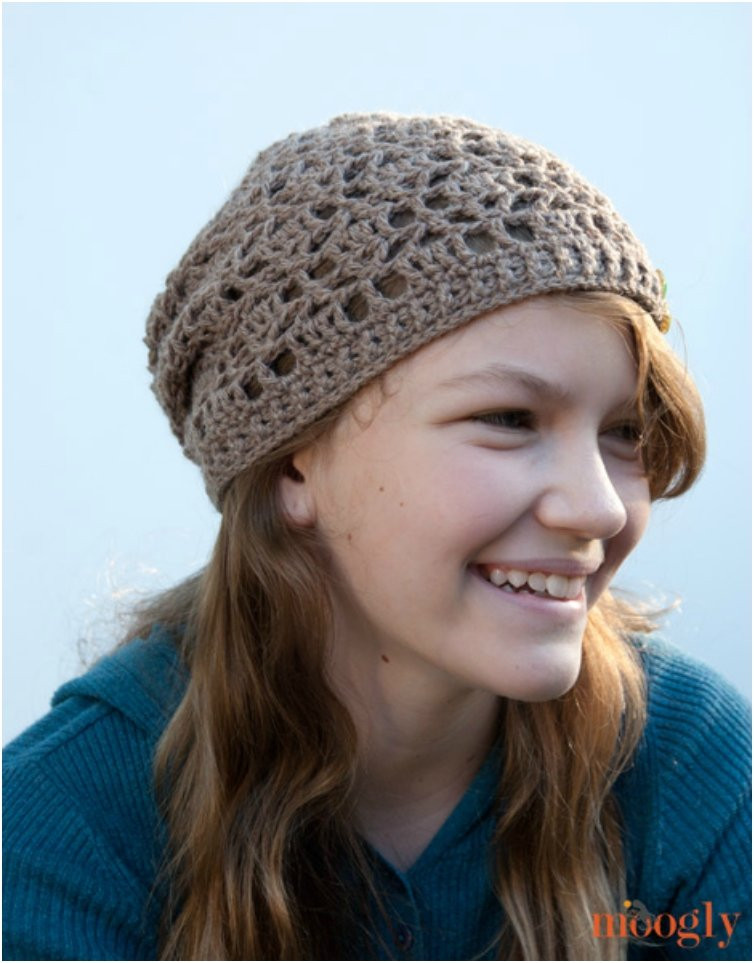 Crochet Slouchy Hat Pattern Best Of Crochet Lovely Spring Accessories Following these 17 Free Of New 44 Pictures Crochet Slouchy Hat Pattern