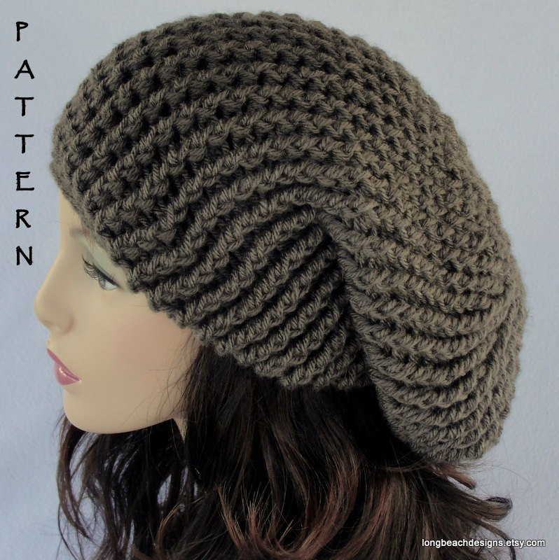 Crochet Hat Pattern ALL SIZES Toddler Child Adult