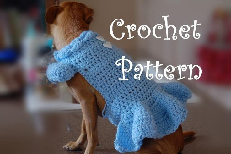 Crochet Small Dog Sweater Lovely 61 Best Images About Dog Sweaters Crochet On Pinterest Of Amazing 48 Models Crochet Small Dog Sweater