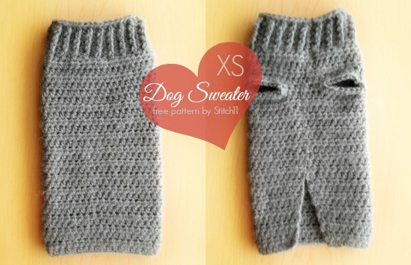 Crochet Small Dog Sweater Pattern Best Of Extra Small Dog Sweater Crochet Pattern Stitch11 Of Incredible 47 Images Crochet Small Dog Sweater Pattern