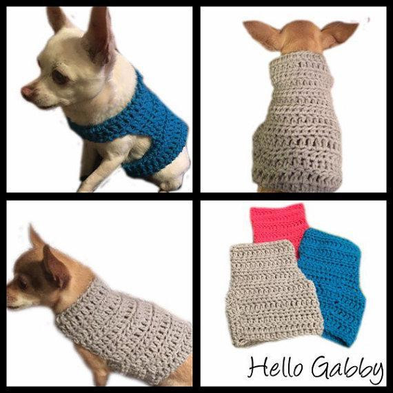 Crochet Small Dog Sweater Pattern New Crochet Pattern Dog Sweater Of Incredible 47 Images Crochet Small Dog Sweater Pattern