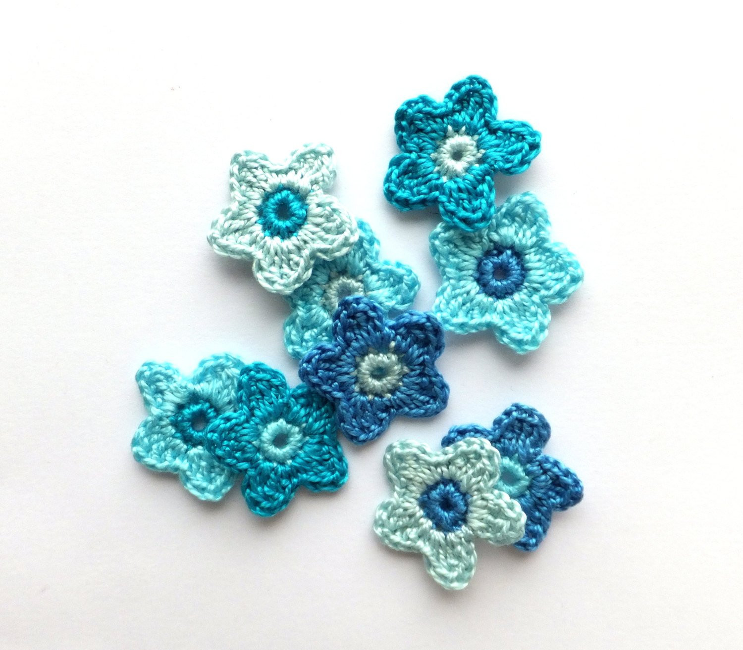 Crochet Small Flower Awesome Crochet Flowers Applique Small Flower Embellishments Of Luxury 50 Pictures Crochet Small Flower