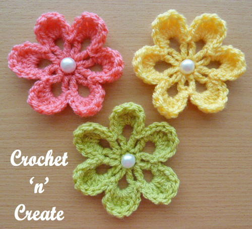 Crochet Small Flower Awesome Small Flower Applique Of Luxury 50 Pictures Crochet Small Flower