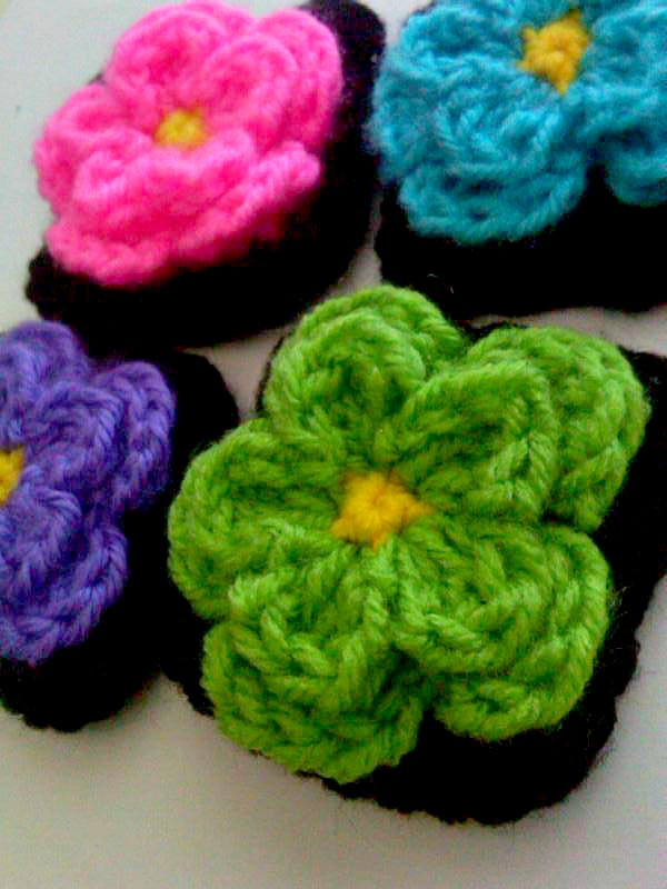 Crochet Small Flower Beautiful A Little Loopy but I M Hooked Cute Little Flower Square Of Luxury 50 Pictures Crochet Small Flower
