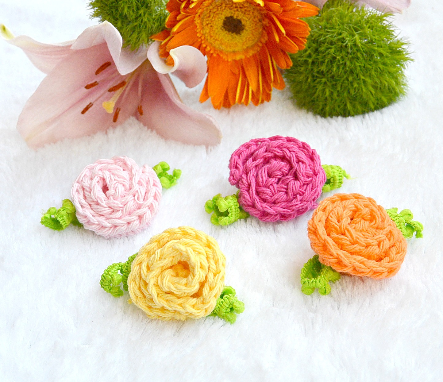 Crochet Small Flower Best Of Sweet Daisies Free Flower Crochet Pattern – Mama In A Stitch Of Luxury 50 Pictures Crochet Small Flower