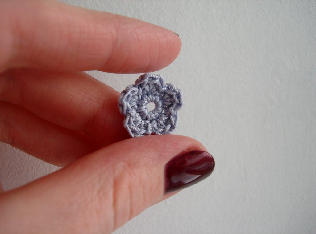 Crochet Small Flower Elegant Crochet Flower Appliques Tiny Small Cute Flowers by Of Luxury 50 Pictures Crochet Small Flower
