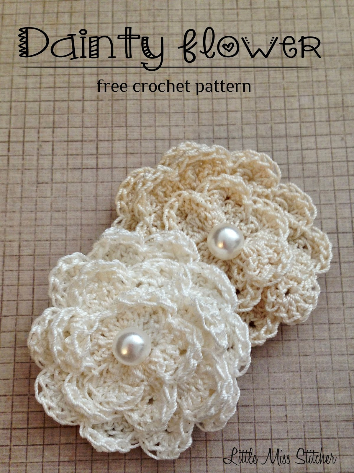 Crochet Small Flower Lovely Dainty Diy Crochet Flowers with Free Pattern Of Luxury 50 Pictures Crochet Small Flower