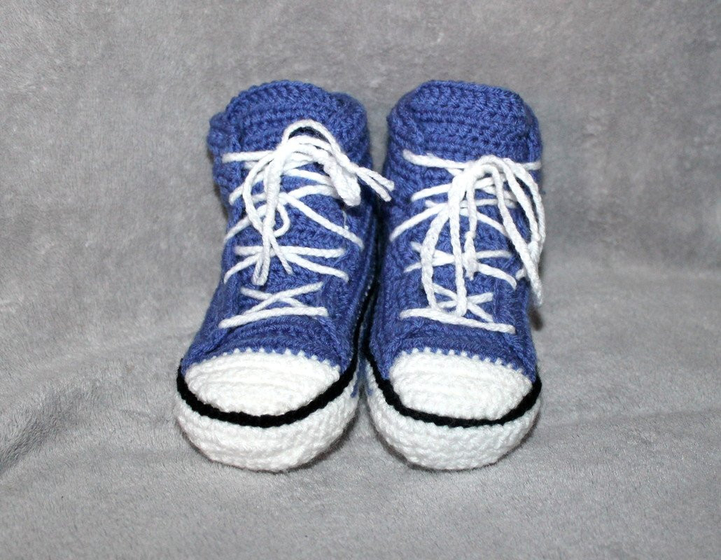 crochet sneakers for childen US sizes 7 5 child untill 3