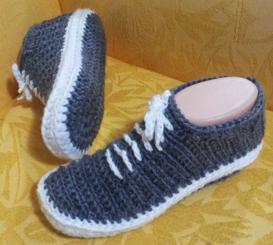 Crochet Sneakers Awesome Free Crochet Pattern for Tennis Shoe Slippers Of Gorgeous 50 Pics Crochet Sneakers