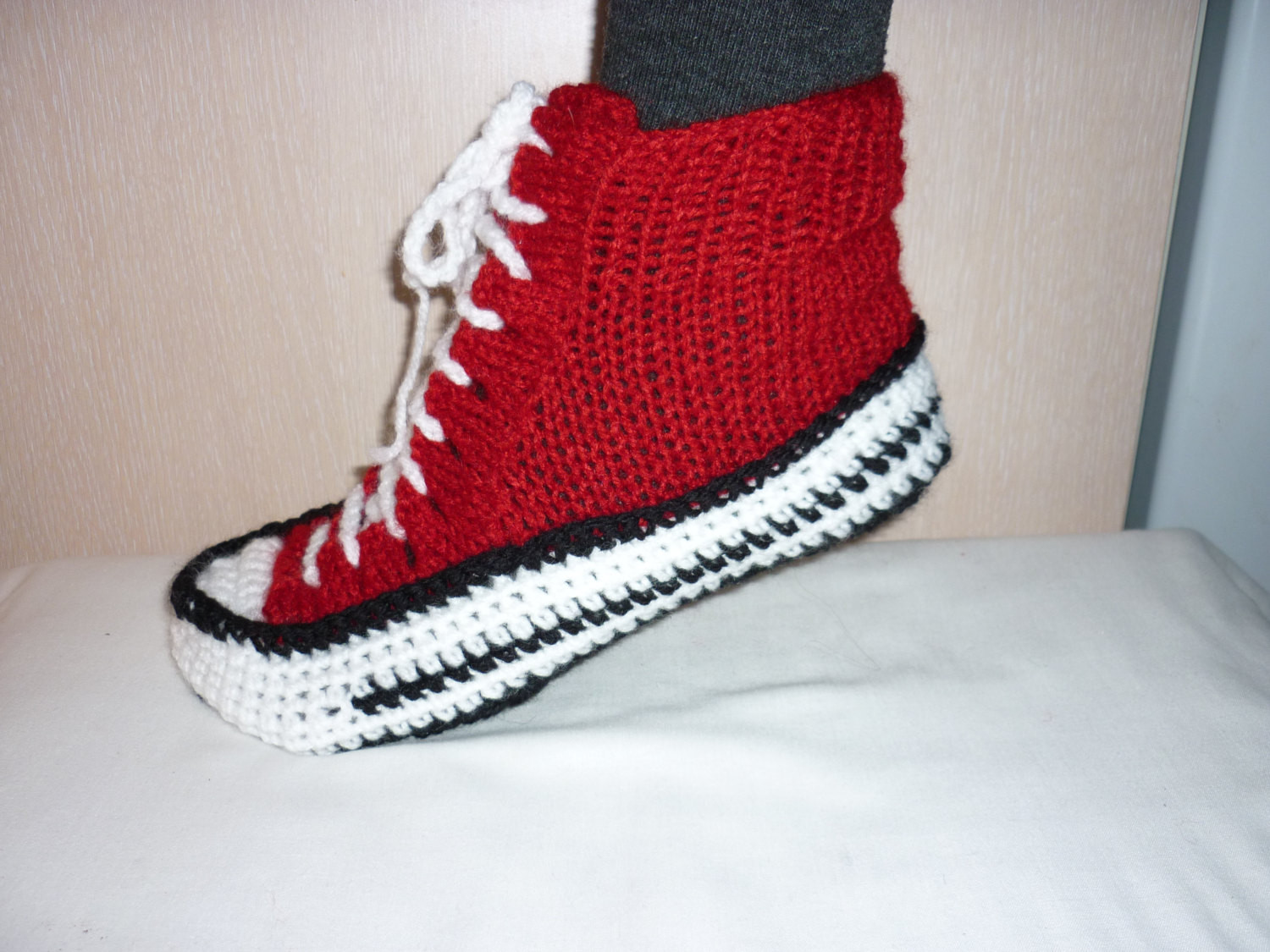 Crochet Sneakers Beautiful Men Converse Slippers Crochet Converse Slippers Crochet Of Gorgeous 50 Pics Crochet Sneakers