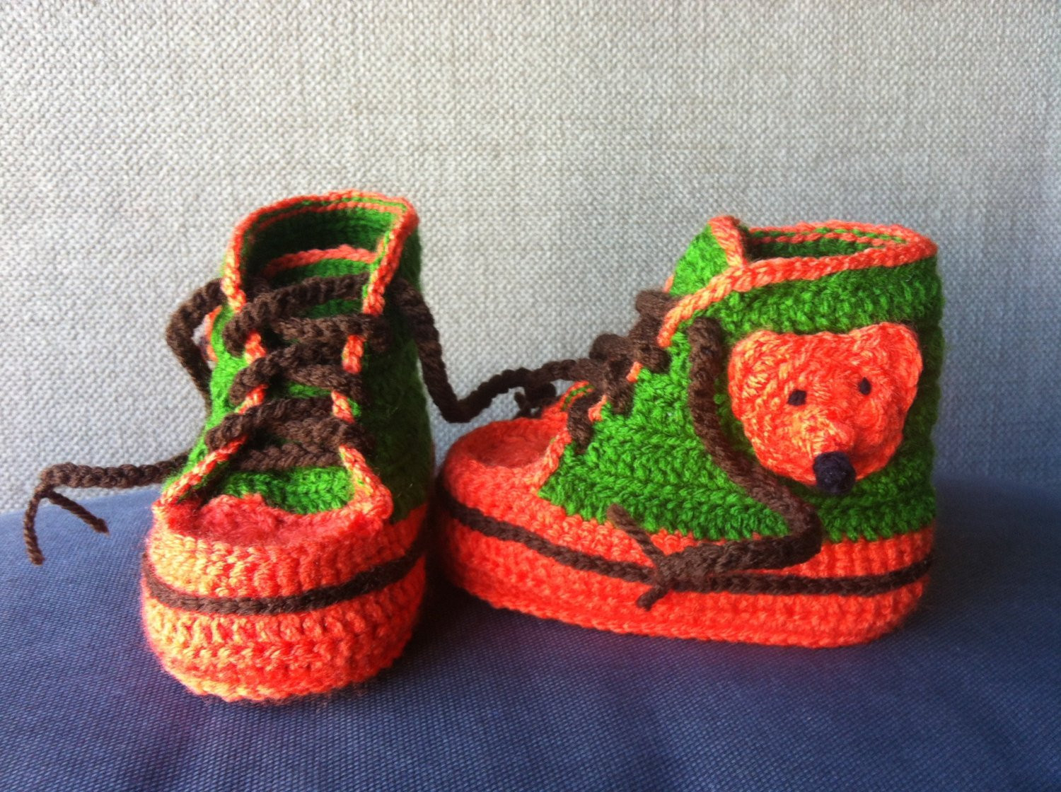 Crochet Sneakers Best Of Baby Booties Baby Sneakers Crochet Fox Shoes Baby Shoes Of Gorgeous 50 Pics Crochet Sneakers