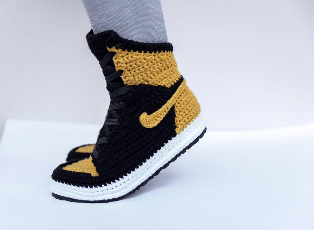 Crochet Sneakers Best Of Fuggit Crochet Sneakers Try to End Sneaker Violence while Of Gorgeous 50 Pics Crochet Sneakers
