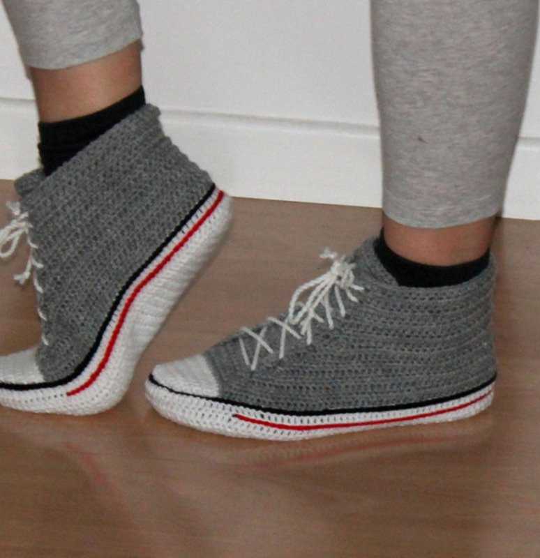 Crochet Sneakers Fresh Crochet Sneakers In Two Different Ways for Adults Uk Size Of Gorgeous 50 Pics Crochet Sneakers