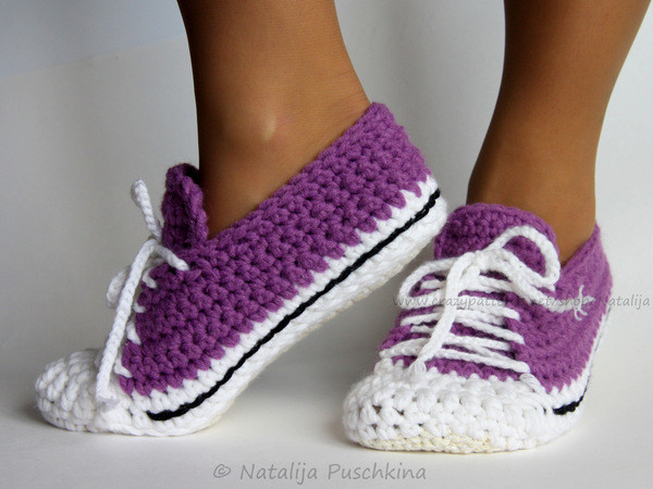 Crochet Sneakers Lovely Crochet Pattern for Warm socks Easy Pattern Of Gorgeous 50 Pics Crochet Sneakers