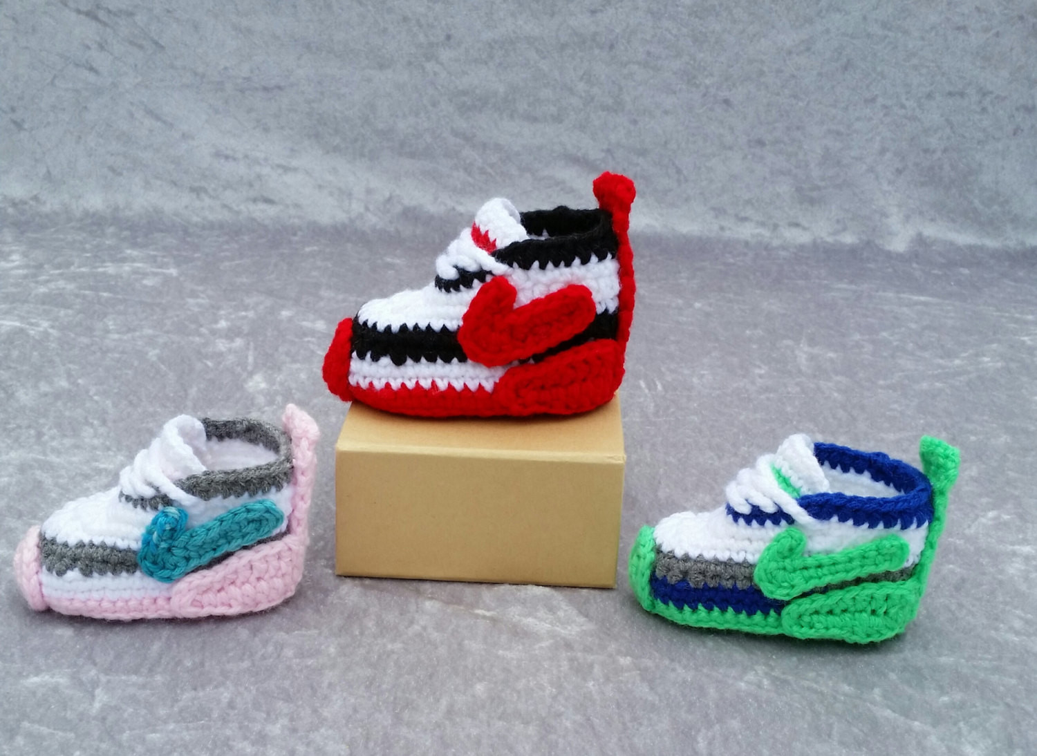 Crochet Sneakers Luxury Crochet Nike Inspired Tennis Shoes Handmade Crocheted Baby Of Gorgeous 50 Pics Crochet Sneakers