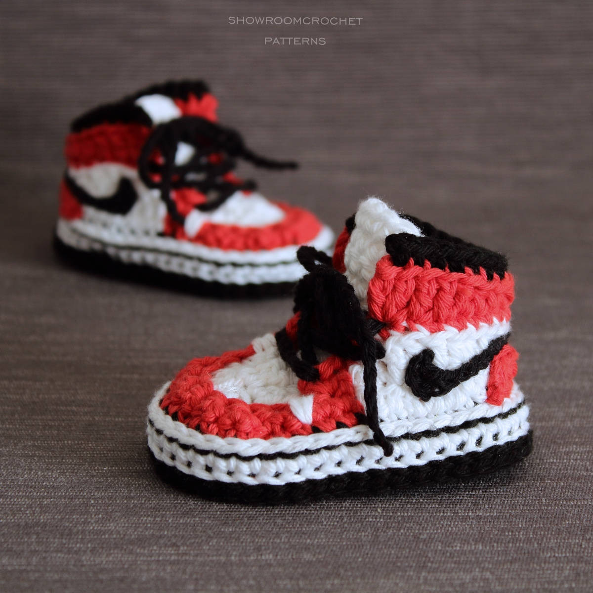 Crochet Sneakers Luxury Crochet Pattern Air Jordans Style Baby Sneakers Of Gorgeous 50 Pics Crochet Sneakers