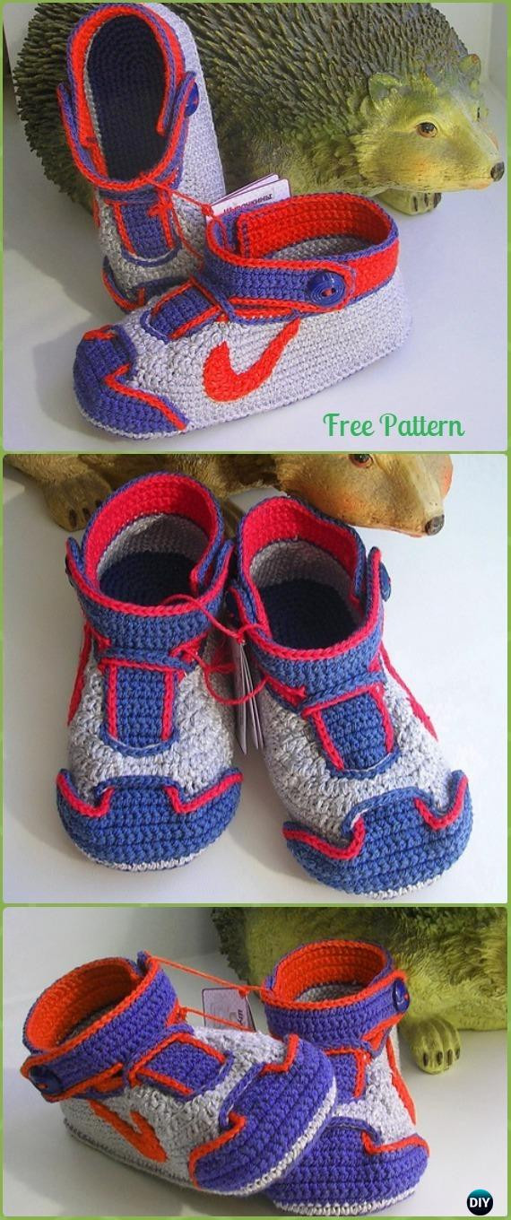 Crochet Sneakers New Crochet Sneaker Slipper Booties Free Patterns & Paid Baby Of Gorgeous 50 Pics Crochet Sneakers