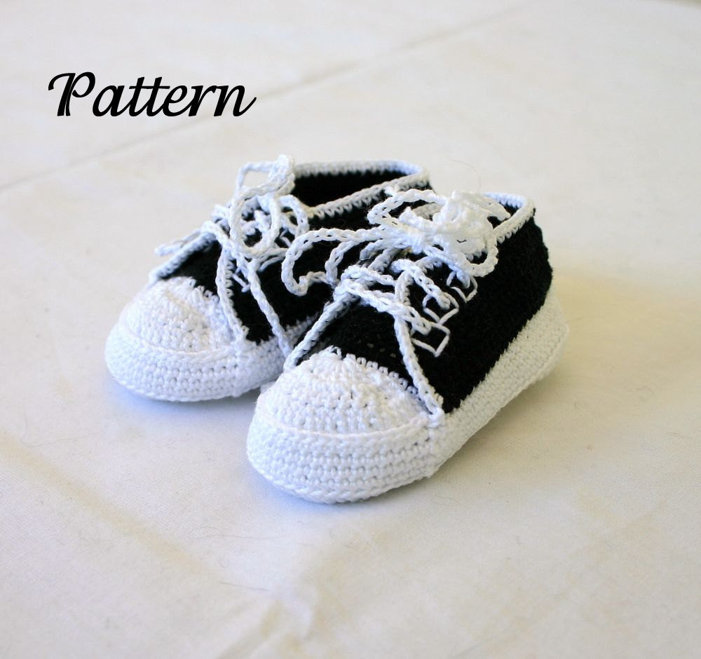 Crochet Sneakers Unique Baby Sneakers Pdf Crochet Pattern 0 3 Month Infant Tennis Of Gorgeous 50 Pics Crochet Sneakers