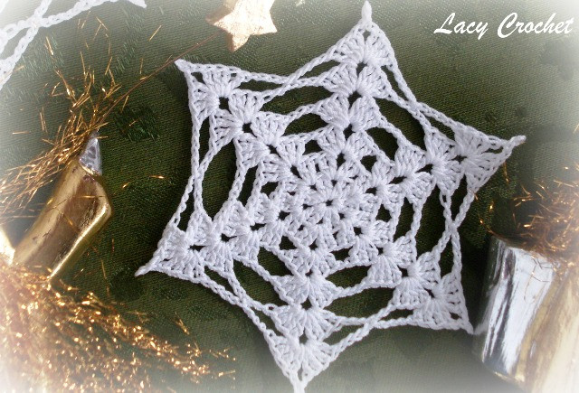 Crochet Snowflake Awesome Lacy Crochet Snowflakes Of Brilliant 50 Models Crochet Snowflake