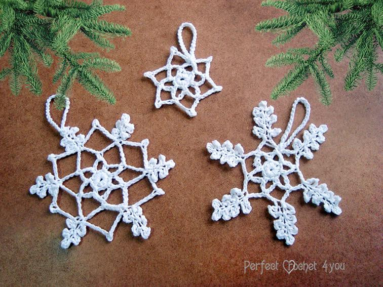Crochet Snowflake ornaments Awesome 12 Crochet Snowflake Patterns for Holiday Decorating Of Awesome 49 Photos Crochet Snowflake ornaments
