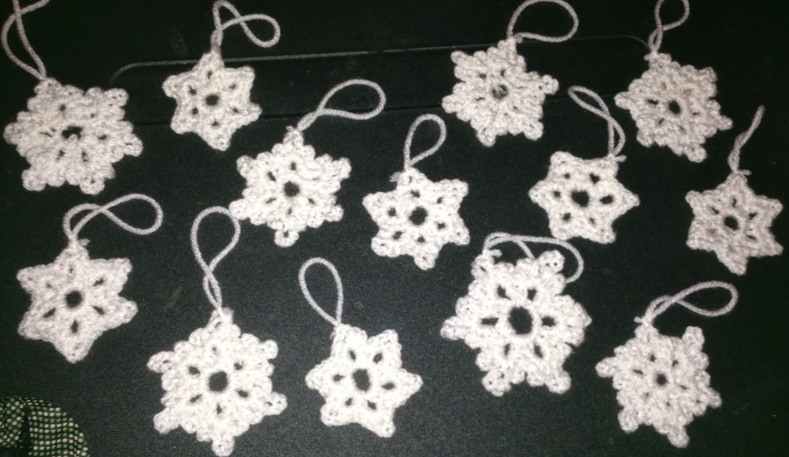 Crochet Snowflake ornaments Awesome the Crafty German Easy ornaments 2 Crochet Snowflakes Of Awesome 49 Photos Crochet Snowflake ornaments