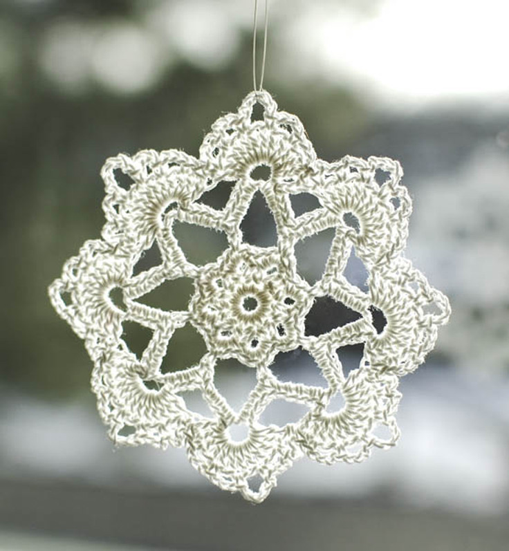 Crochet Snowflake ornaments Fresh top 10 Free Patterns for Crocheted Snowflakes top Inspired Of Awesome 49 Photos Crochet Snowflake ornaments