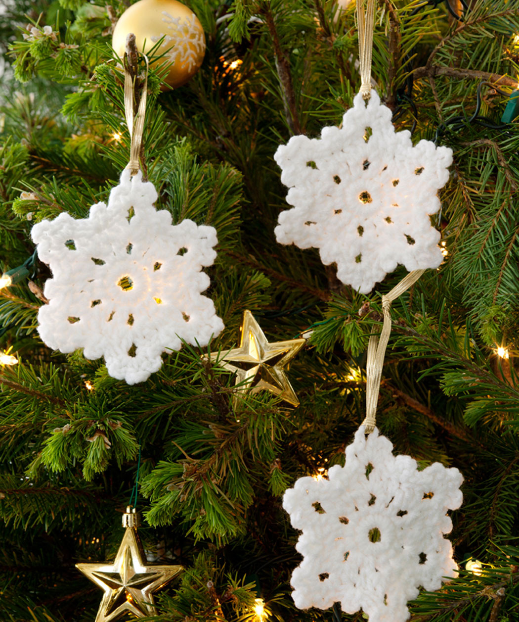 Crochet Snowflake ornaments New 33 Crochet Snowflake Patterns Of Awesome 49 Photos Crochet Snowflake ornaments