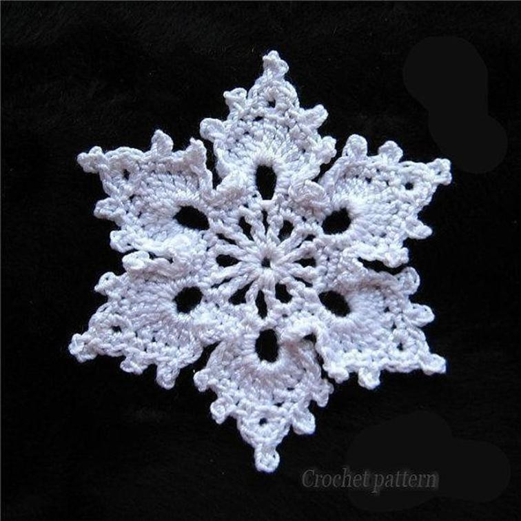 Crochet Snowflake Pattern Awesome 12 Crochet Snowflake Patterns for Holiday Decorating Of Wonderful 50 Photos Crochet Snowflake Pattern