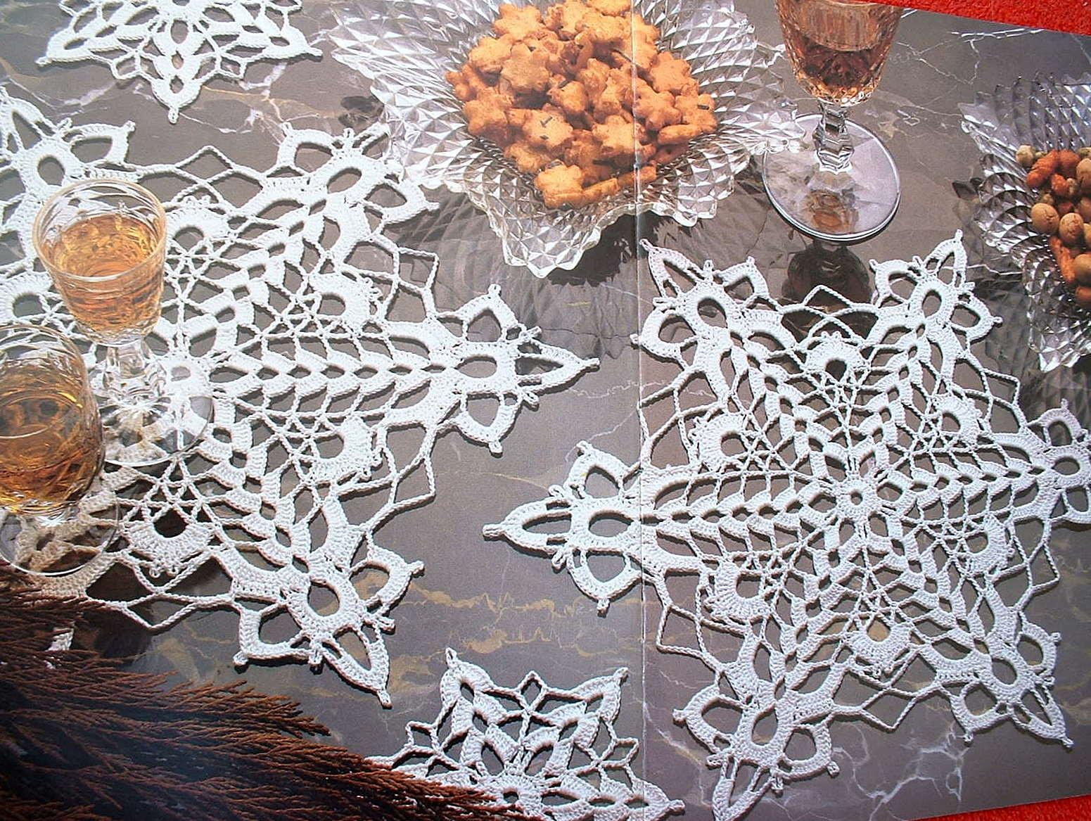 "So Far So Good The Original ""Snowflake Doily"""
