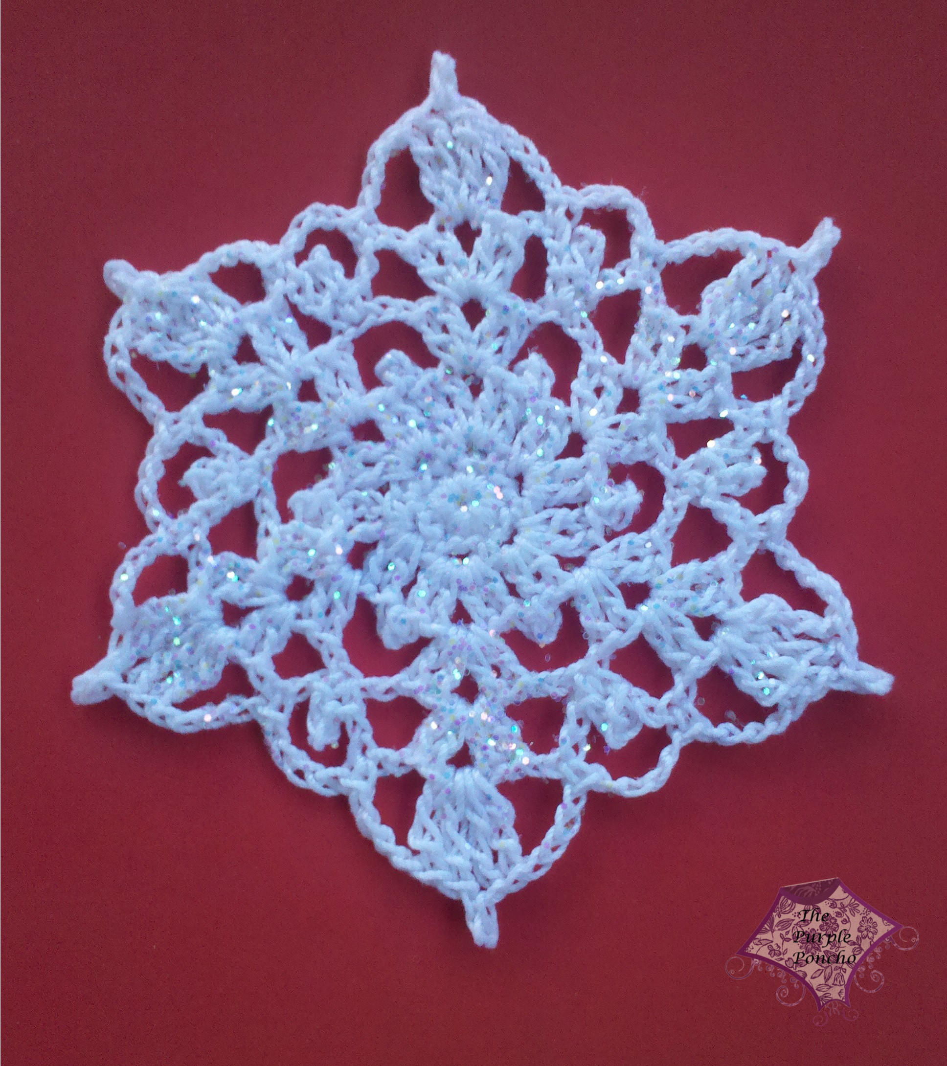 Crochet Snowflake Pattern Fresh Crochet Snowflake – the Purple Poncho Of Wonderful 50 Photos Crochet Snowflake Pattern