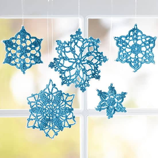 Crochet Snowflake Pattern Lots Ideas Video Tutorial