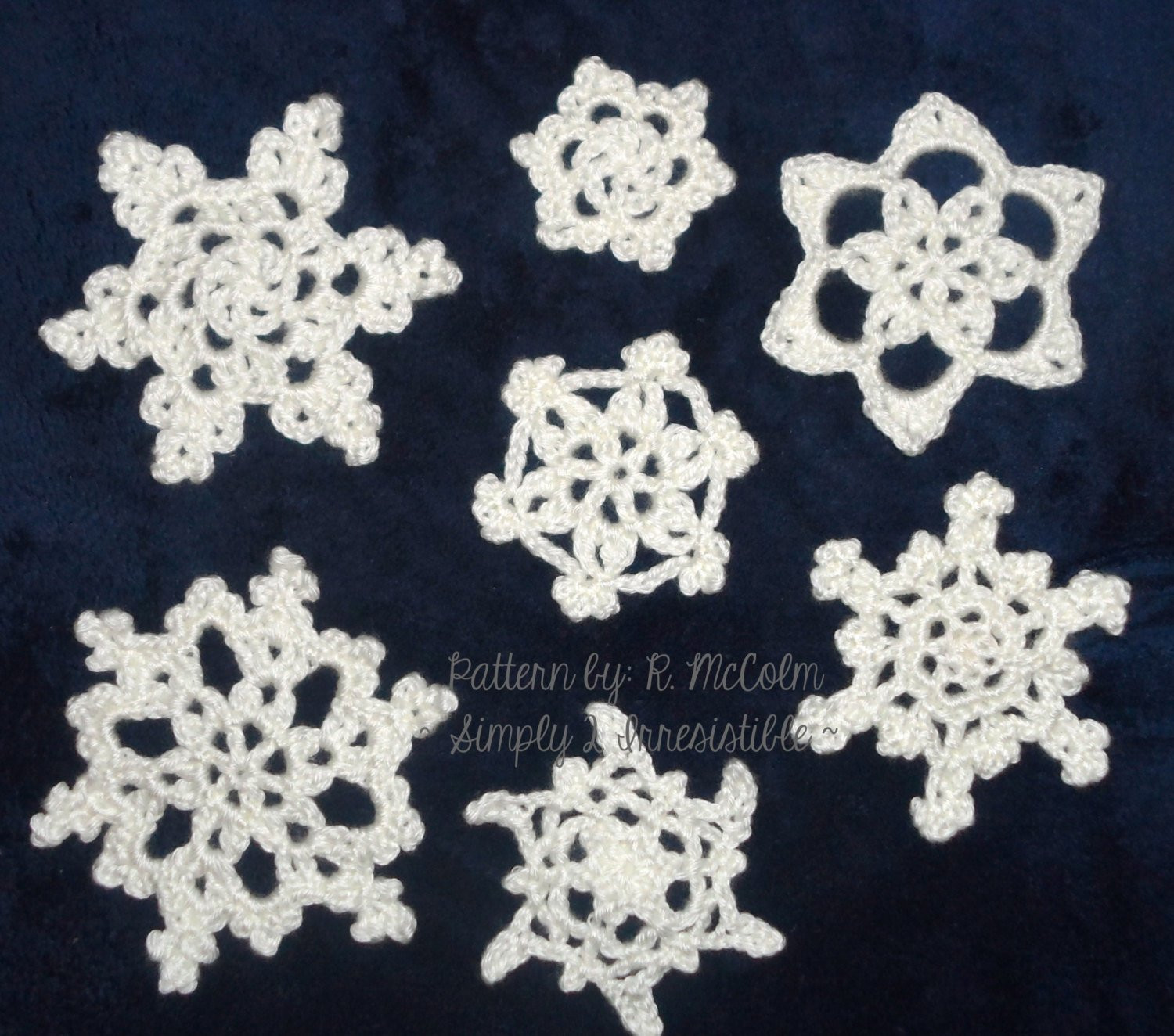 Crochet Snowflake Pattern Luxury Snowflakes Crochet Patterns Holiday Christmas Winter Of Wonderful 50 Photos Crochet Snowflake Pattern