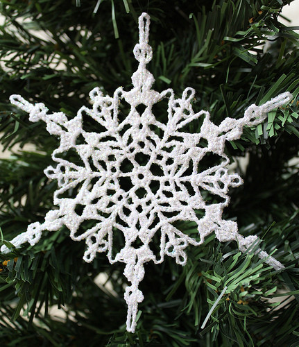 Crochet Snowflake Pattern Luxury Sparkly Crochet Snowflake ornament Of Wonderful 50 Photos Crochet Snowflake Pattern