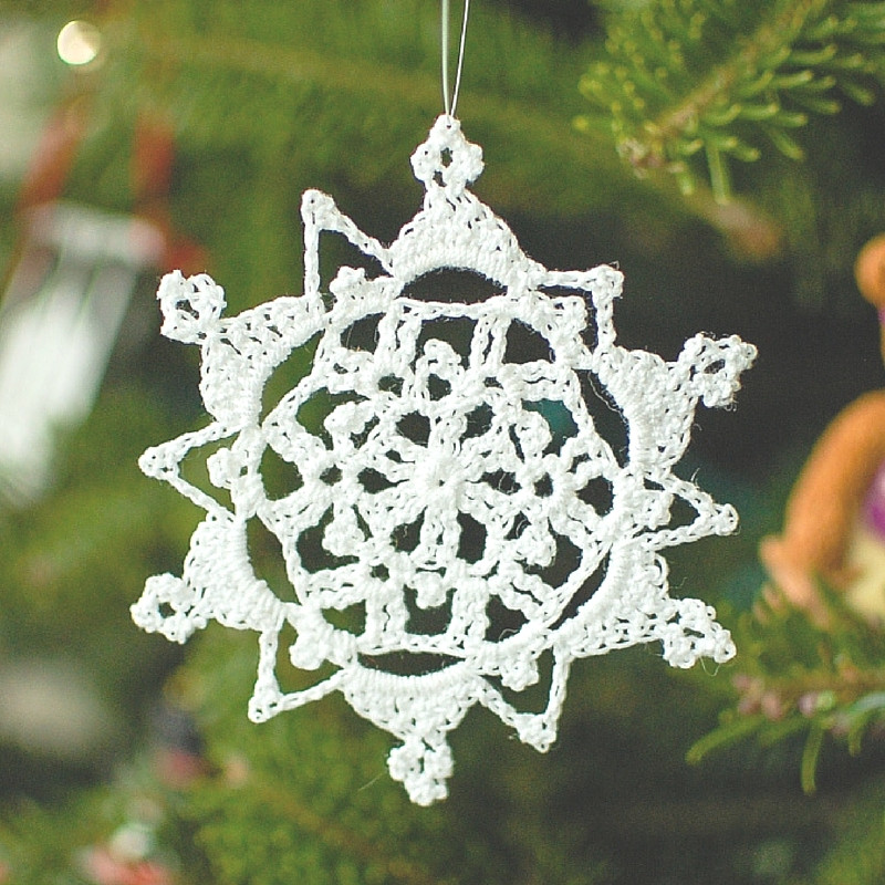 Crochet Snowflake Pattern Luxury Tis the Season to Crochet Christmas ornaments 12 Free Of Wonderful 50 Photos Crochet Snowflake Pattern