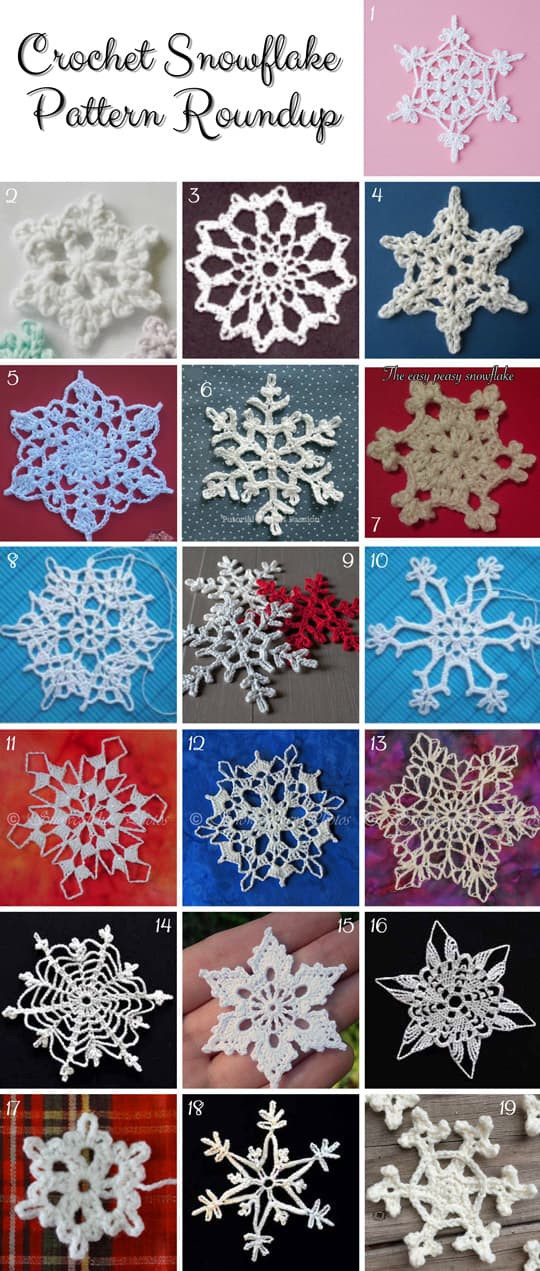 Crochet Snowflake Pattern Unique Crochet Christmas ornaments Free Patterns Of Wonderful 50 Photos Crochet Snowflake Pattern