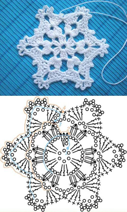 Crochet Snowflake Pattern Unique Wonderful Diy Crochet Snowflakes with Pattern Of Wonderful 50 Photos Crochet Snowflake Pattern