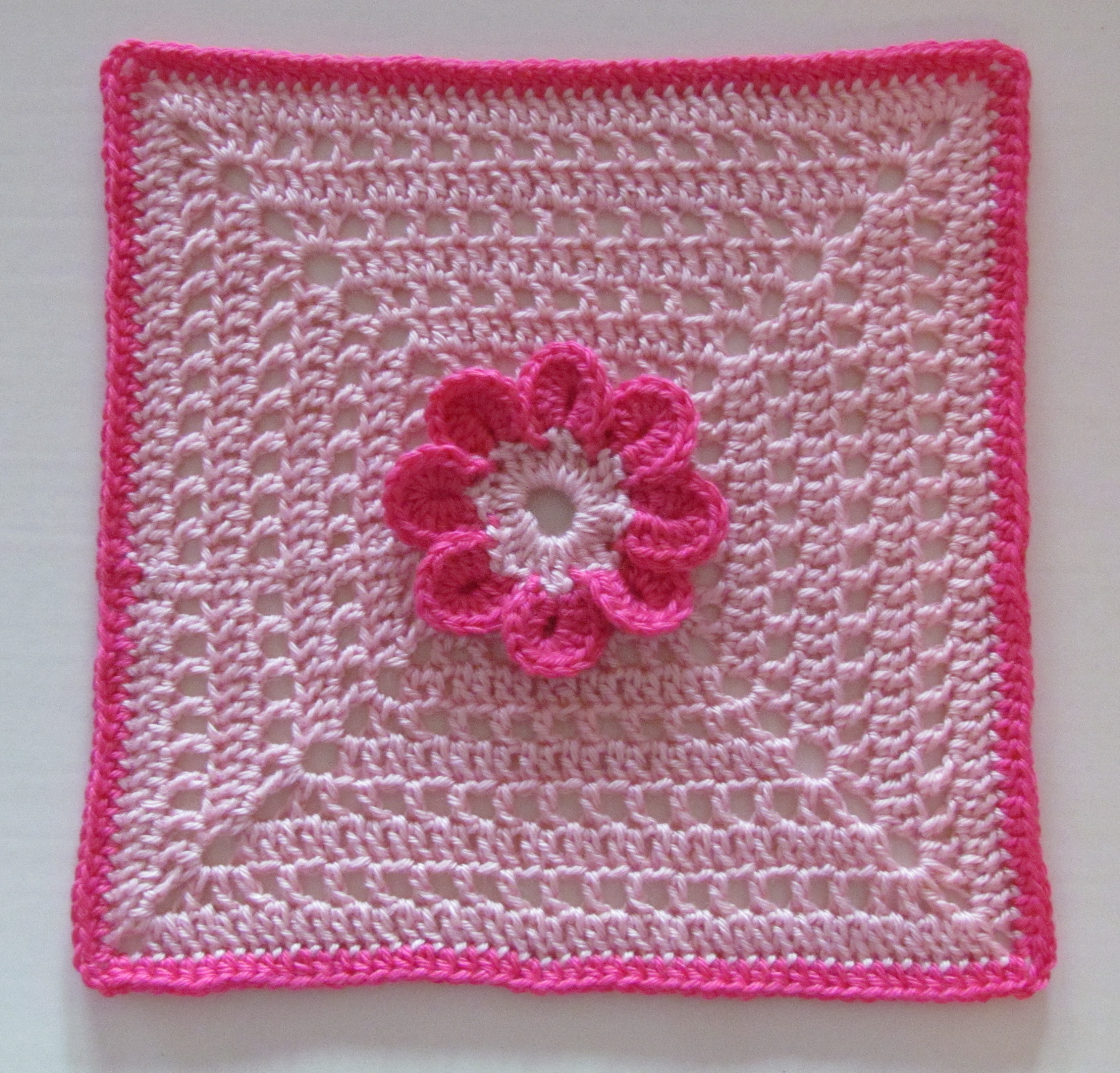 Crochet Square Patterns New 8 Petal Flower Afghan Square Free Crochet Pattern Of Marvelous 43 Photos Crochet Square Patterns