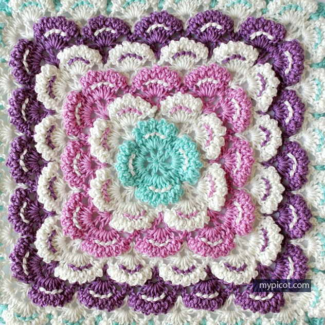 Crochet Square Patterns New [ Tutorial] This Gorgeous Crochet Square Blanket Of Marvelous 43 Photos Crochet Square Patterns