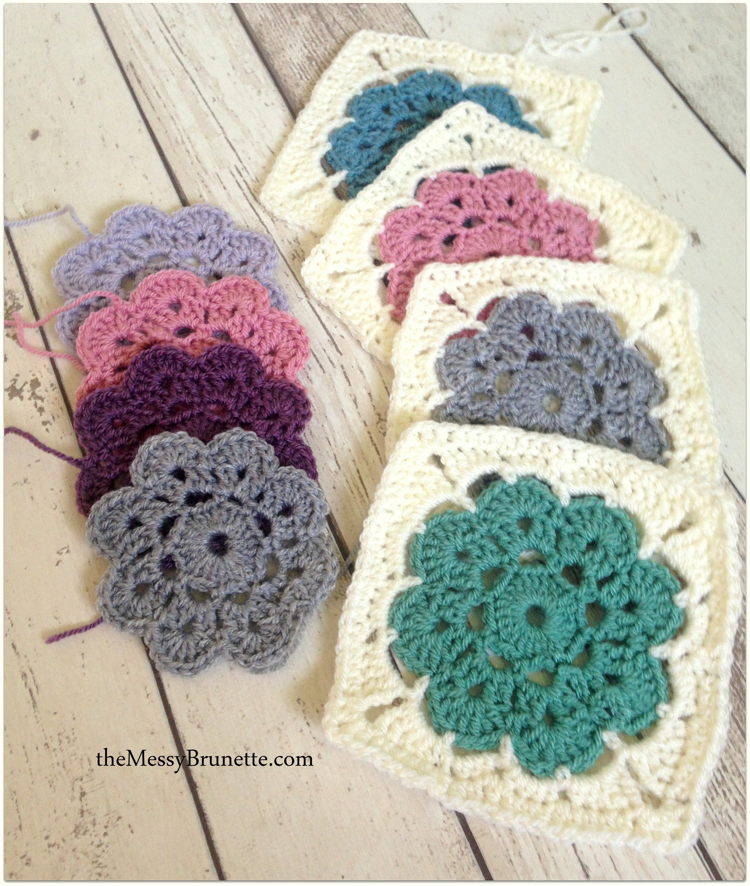 Crochet Squares Awesome Crochet – the Messy Brunette Of Charming 43 Ideas Crochet Squares
