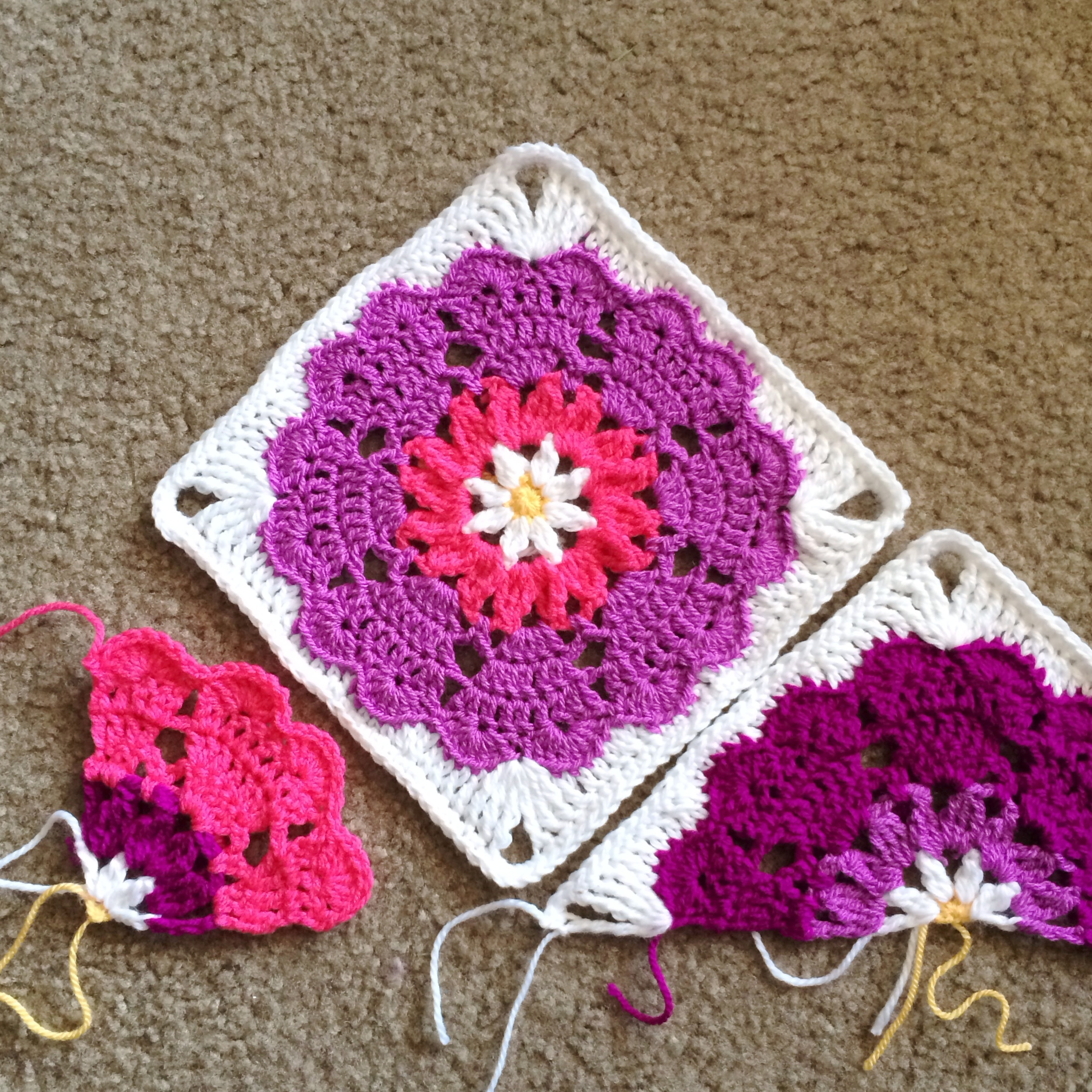 Crochet Squares Best Of Heart Mandala Quarter Square Pattern – Scrappy Blanket Love Of Charming 43 Ideas Crochet Squares