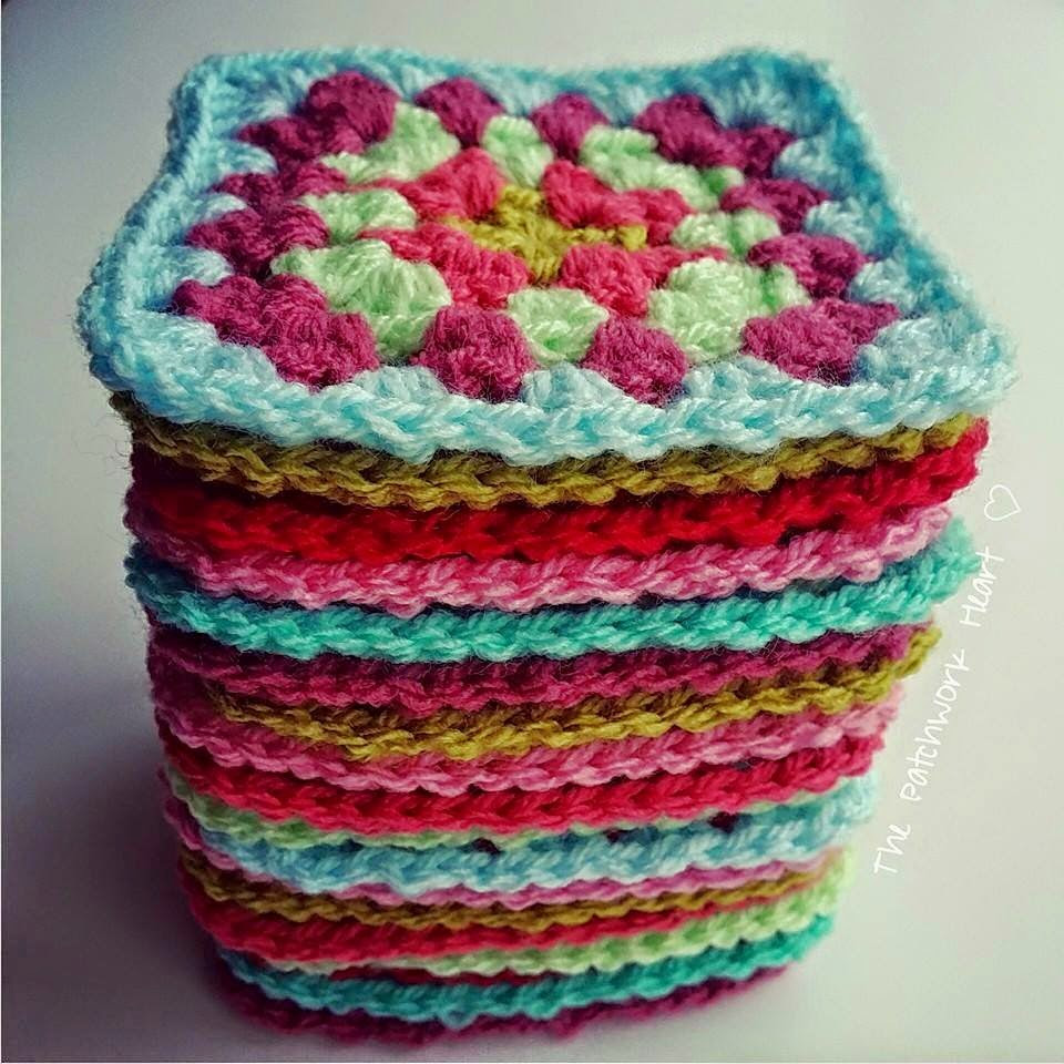 Crochet Squares Fresh the Patchwork Heart Granny Square Tutorial Of Charming 43 Ideas Crochet Squares