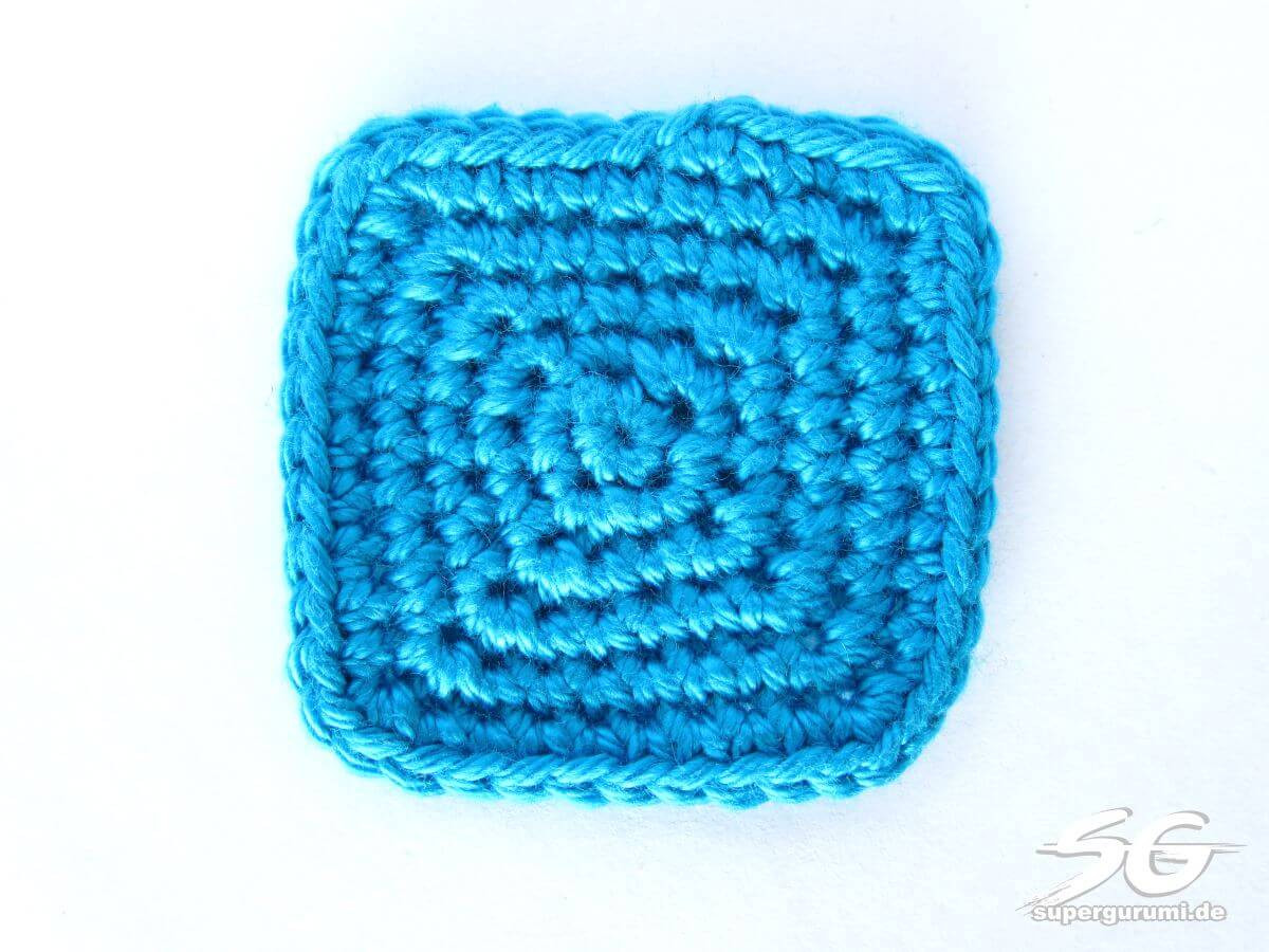 Crochet Squares Inspirational How to Crochet Squares In Spiral Rounds Supergurumi Of Charming 43 Ideas Crochet Squares