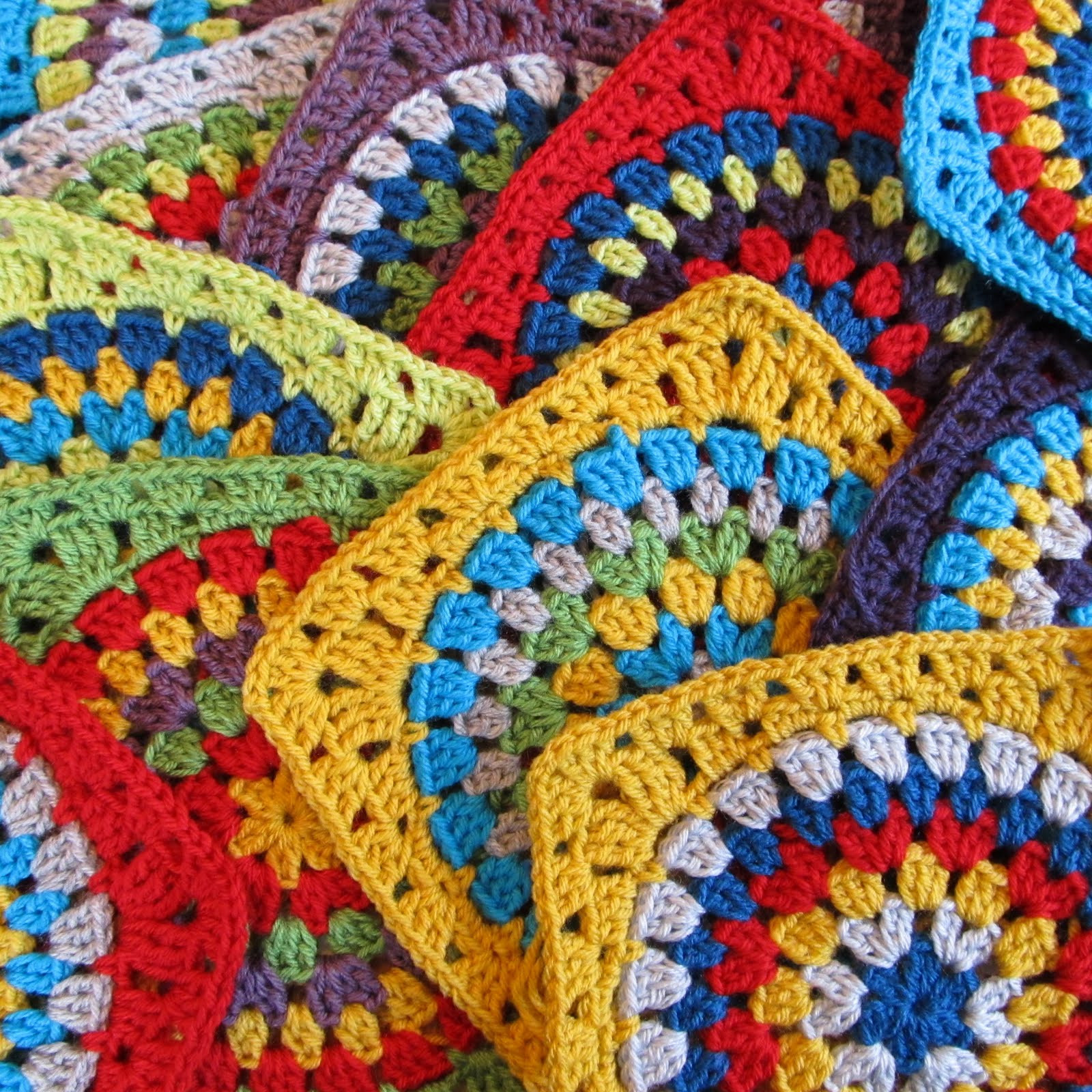 Crochet Squares Lovely Squaring the Big Circle Tutorial Of Charming 43 Ideas Crochet Squares