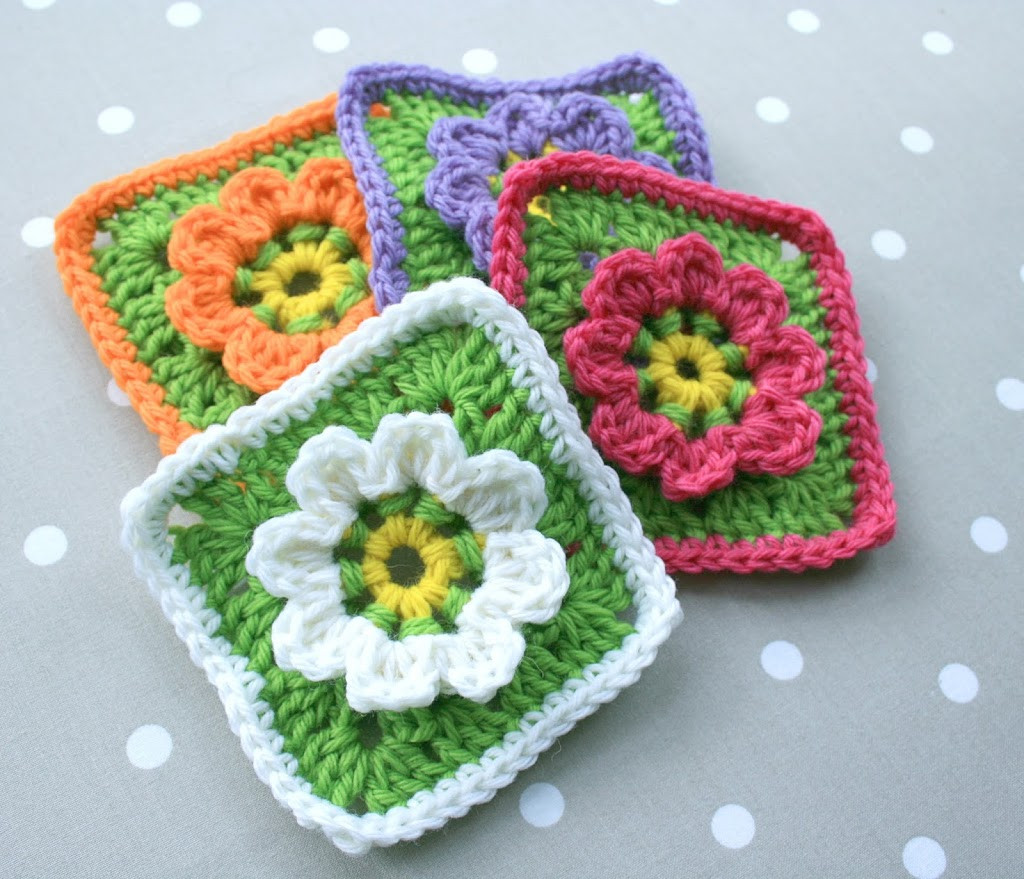 Crochet Squares New Floral Granny Square Crochet Pattern Updated Of Charming 43 Ideas Crochet Squares