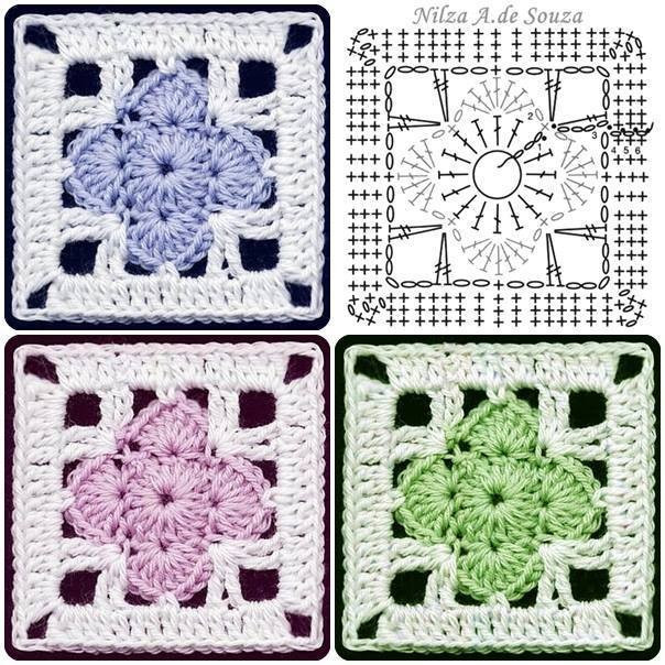 Crochet Squares Unique Crochet Square Fancy Motif ⋆ Crochet Kingdom Of Charming 43 Ideas Crochet Squares